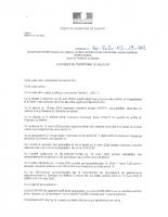 ARRETE PREF_2020-03-19_Arrêté portant interdiction d'accès aux plages, sentiers et chemins de randonnées, pistes cyclables, forêts et parcs.