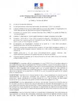 ARRETE PREF_2020-04-15_Arrete portant fermeture des commerce d'alimentation generale de 20h00 a 06h00 du matin