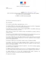 ARRETE PREF_2020-04-15_Arrete portant interdiction d'acces aux plages, sentiers et chemins de randonnees, pistes cyclables, forets et parcs