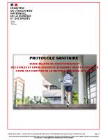 MINISTERE EDUCATION NATIONALE_2020-07-09_Protocole sanitaire relatif aux écoles et établissements scolaires – Rentrée 2020