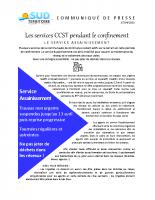 SUD TERRITOIRE_2020-04-07_Com de presse SERVICES CCST COVID assainissement