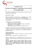 2020-07-10_Comite de Pilotage déploiement de la Fibre