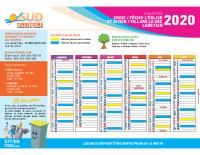 calendrier ramassage OM 2020