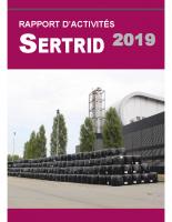 SERTRID_rapport activité 2019