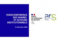 ARS-BFC_2020-12-15_PPT présentation aux Maire