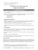 Réglement d' affouage sur pied – Campagne 2020-2021